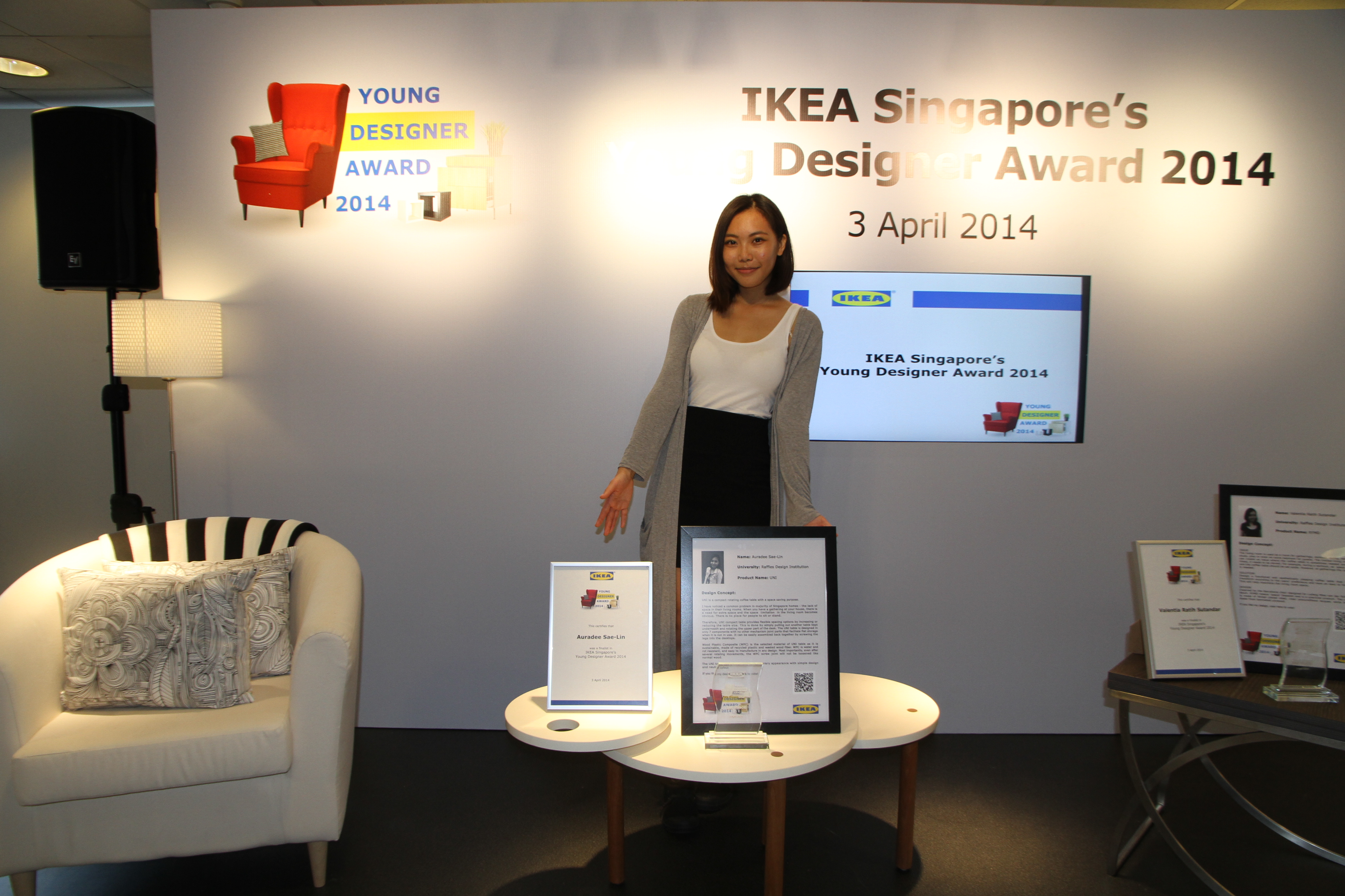 Officially IKEA Designers - Raffles News