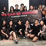 """We Can Be Heroes"" Fashion Show by Raffles Fashion Marketers"