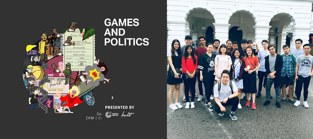 Games & Politics Exhibition - Kult Gallery