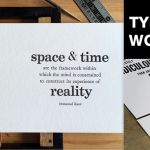 Letterpress Workshop By TypesettingSG