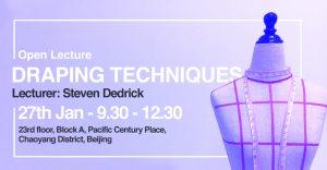 Open Lecture: Draping Technique