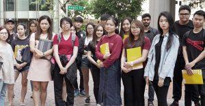 Raffles Singapore's April 2018 Orientation
