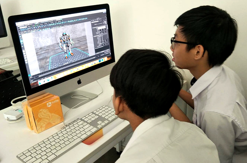 Games & Animation Learning Journey with Raffles Singapore