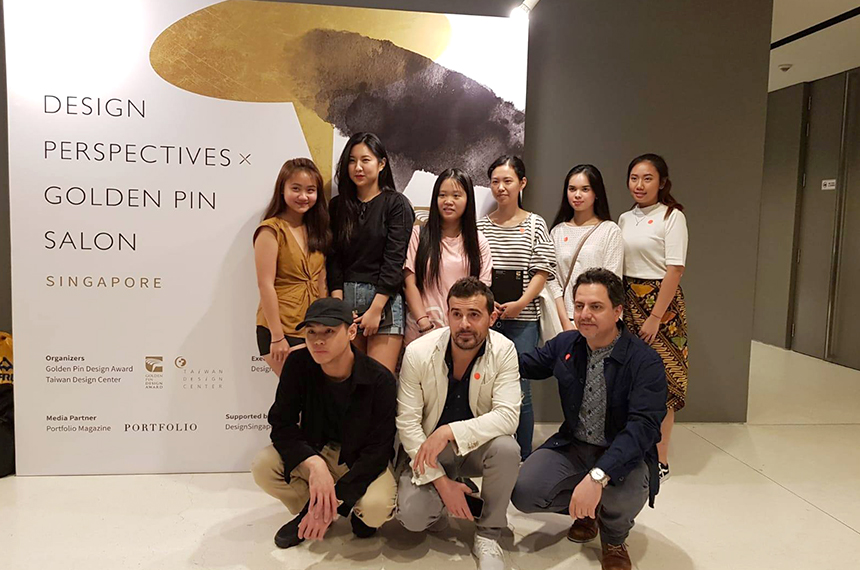Design Perspectives X Golden Pin Salon Singapore 2018
