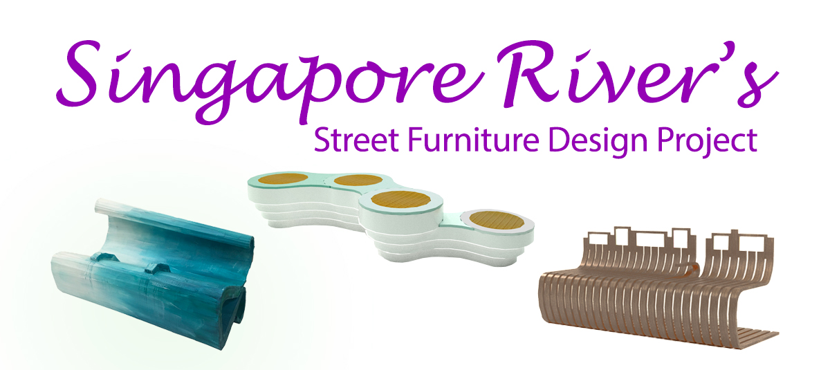 9. Singapore River Street Furniture Design