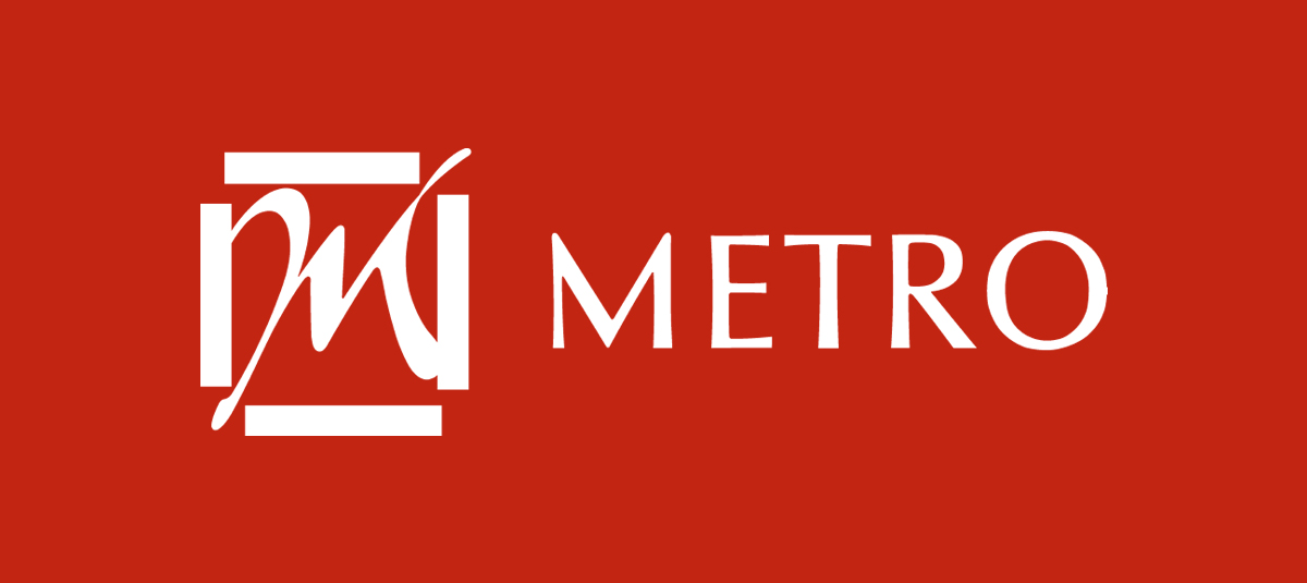 Commemorating Metro's 62nd Birthday with Raffles Singapore