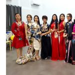 Raffles Fashion Designers Dressed Beauty Queens at the 5th World Cheongsam Competition 2018