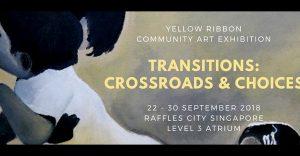 Raffles Singapore at Yellow Ribbon Community Art Exhibition 2018