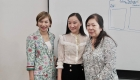 Regina FANG Founder of NEWFOUND visited Raffles Singapore