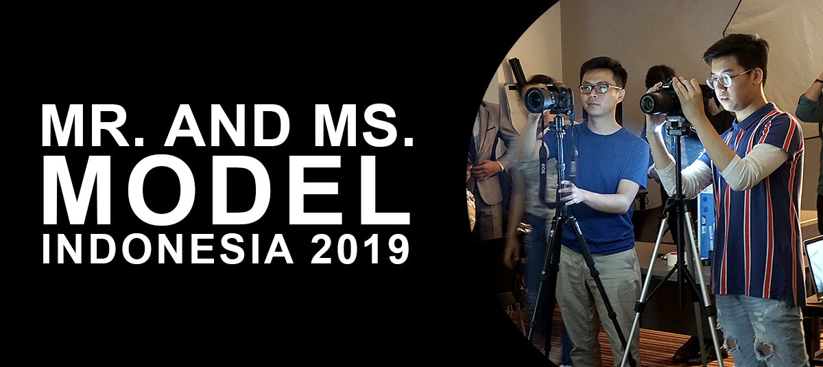 Mr and Ms Model Indonesia 2019 Supported by Raffles Jakarta's Digital Media Designers