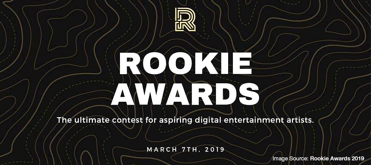 The Rookie 2019 Competition with Raffles Animators and Games Designers