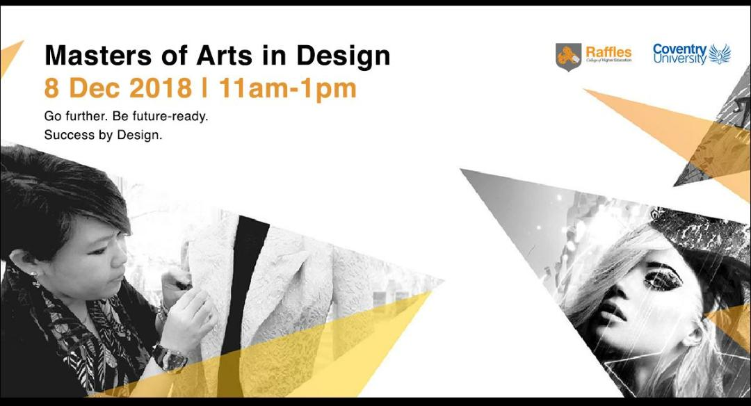 Masters of Arts in Design Information Session