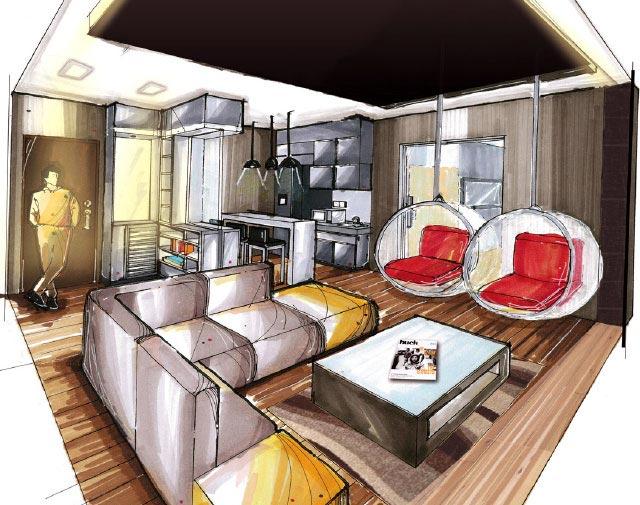 Interior Design Course In Singapore StudyatRaffles Best Drawing Interior Design Set